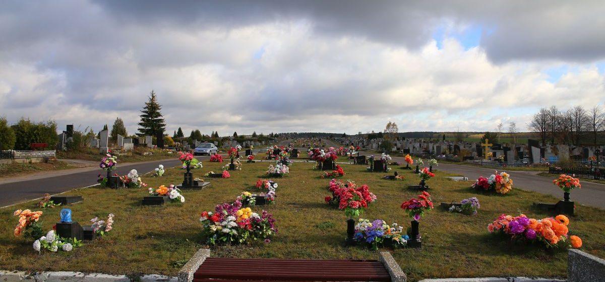 В Барановичском районе с могилы украли две надгробные плиты