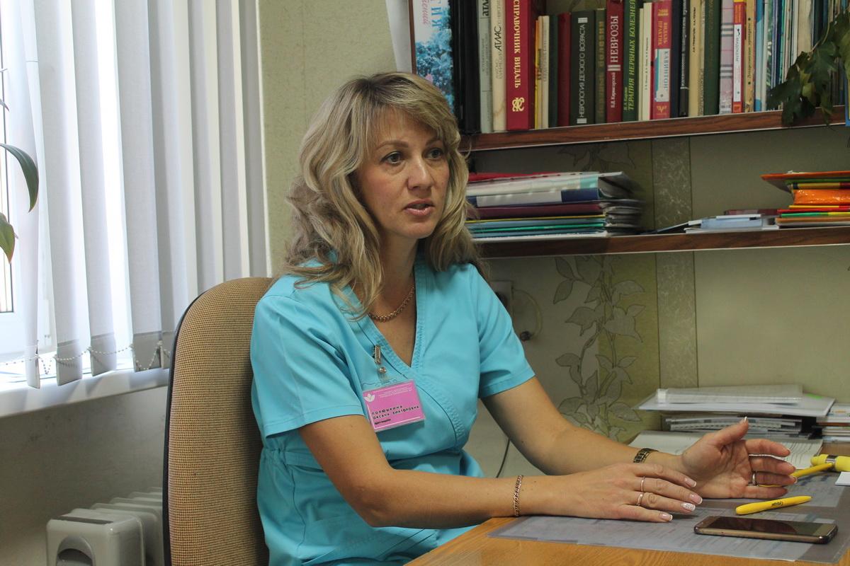Оксана Полюшкина.  Фото: Татьяна МАЛЕЖ