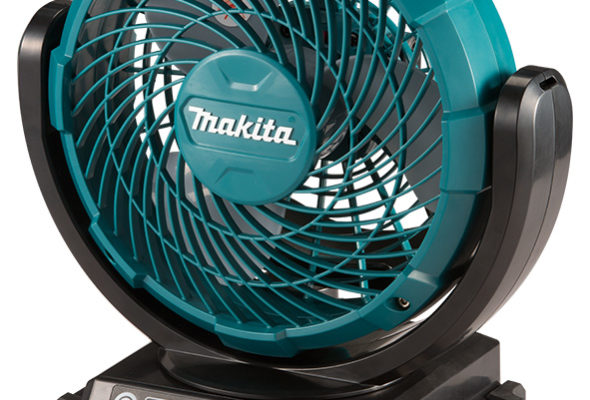 При свете новых фонарей почувствуйте легкий бриз от новых вентиляторов Makita