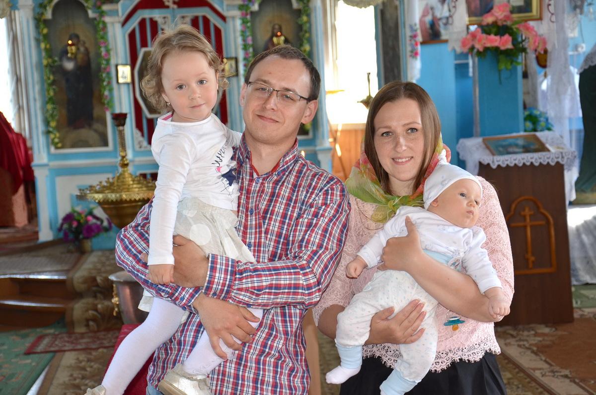 Семья Шкуть. Фото: личный архив