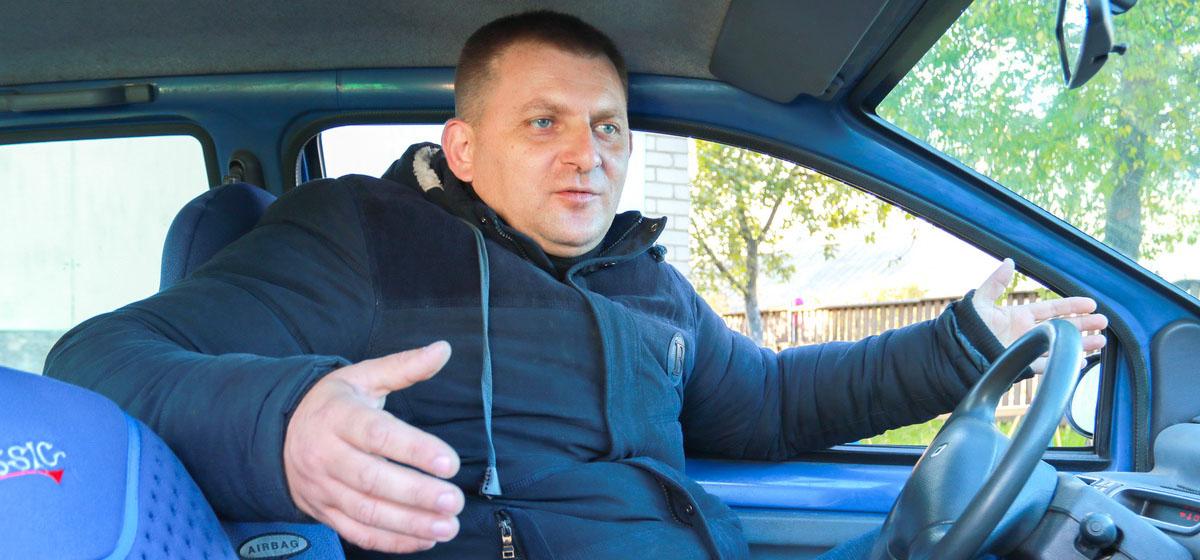 Юрий Бурба не согласен с действиями ГАИ и надеется, что ему удастся отстоять свою правоту.  Фото: Александр ЧЕРНЫЙ