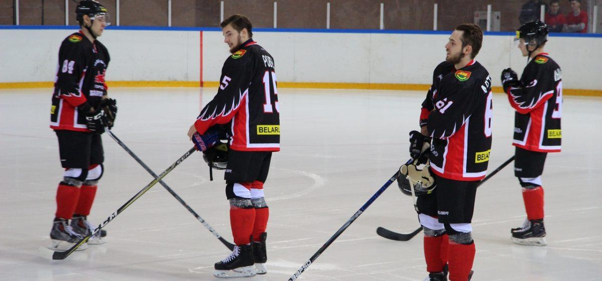 ХК «Барановичи» всухую разгромил бобруйских хоккеистов на домашнем льду (видео)