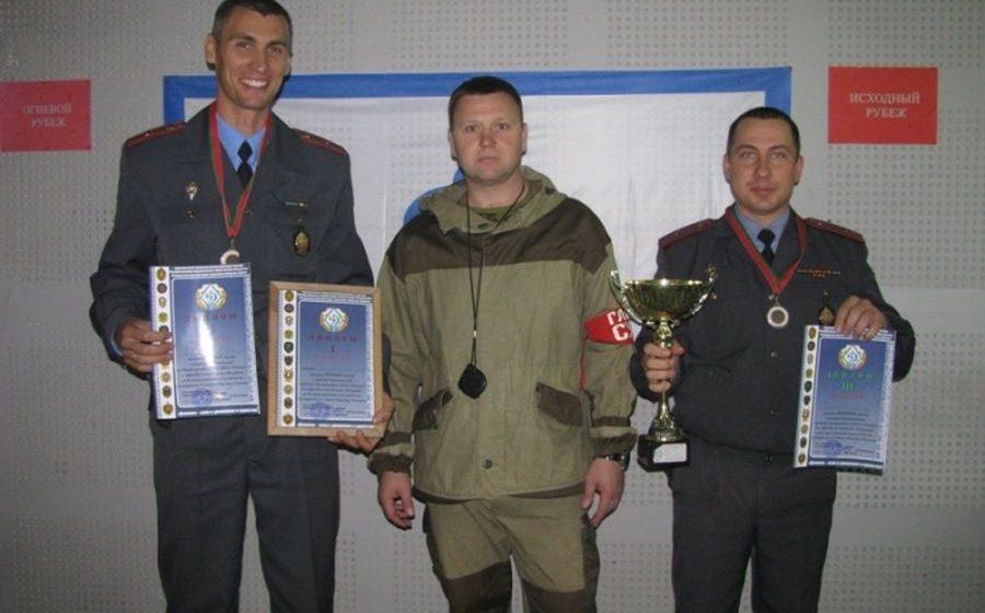Военнослужащие из Барановичей заняли первое место в турнире по стрельбе из пистолета Макарова
