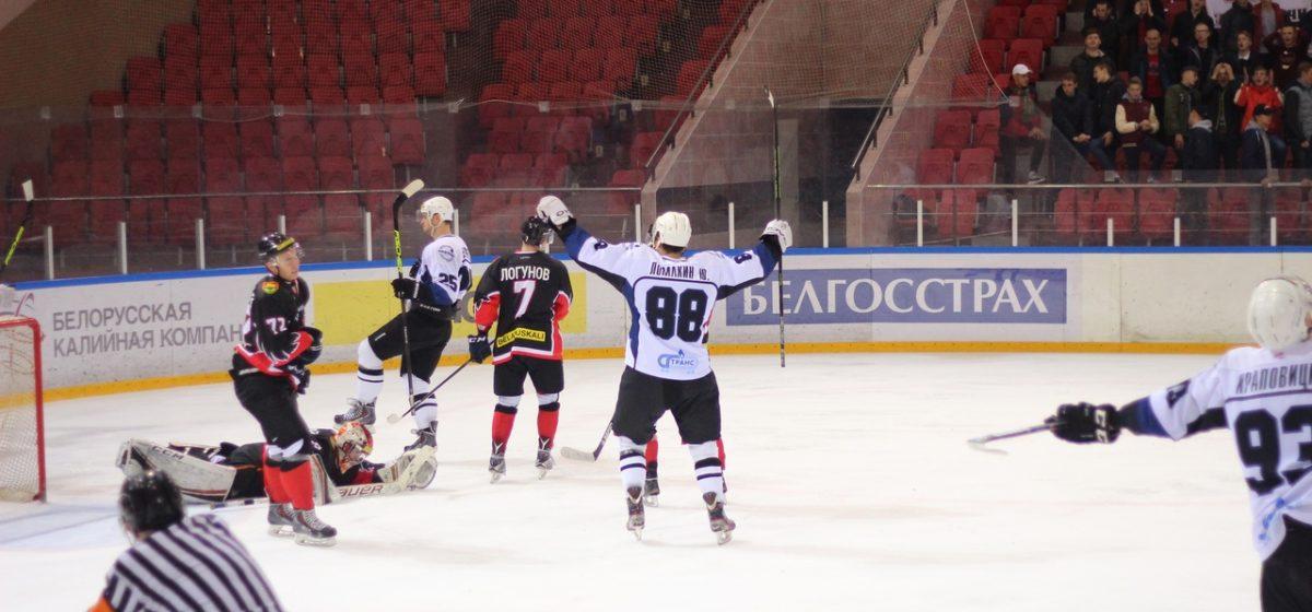 ХК «Барановичи» на своем льду проиграл «Химику» из Новополоцка
