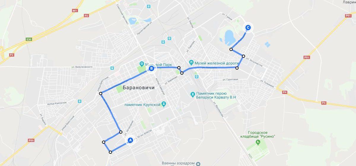 В Барановичах предложили объединить автобусные маршруты №24 и №29, чтобы связать Боровки и БарГУ