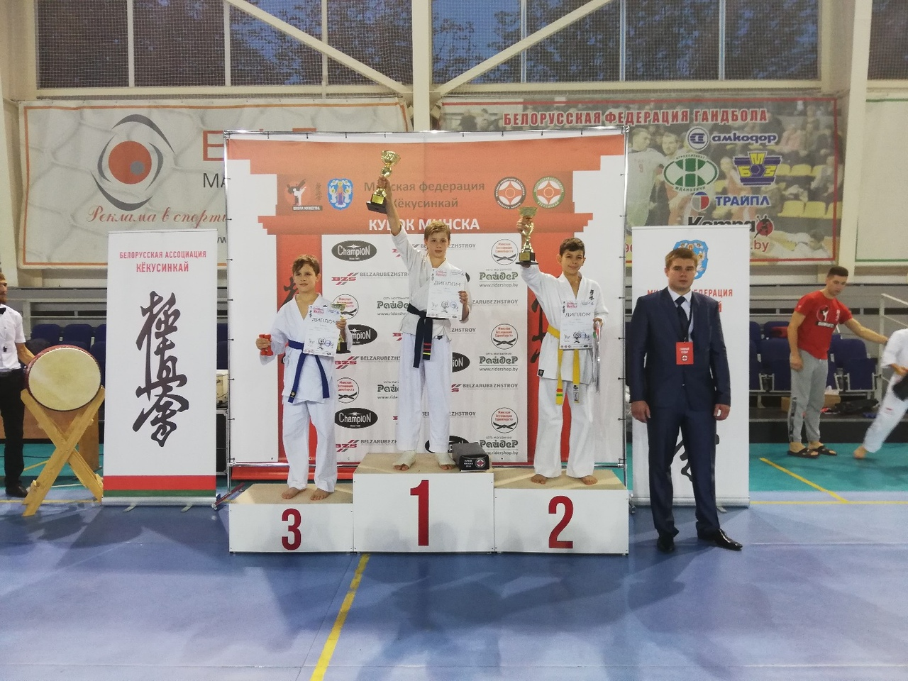 Никита Голик занял 1-е место и завоевал Кубок Минска.