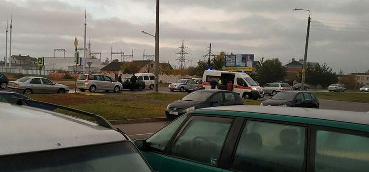 В Барановичах автомобиль сбил ребенка