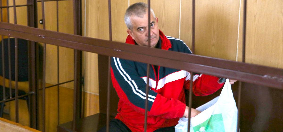 28 сентября 2018 года. Виталий Кадышин в зале суда.  Фото: Евгений ТИХАНОВИЧ