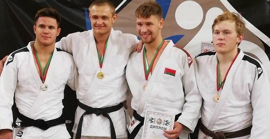 Барановичские дзюдоисты завоевали награды Открытого кубка Беларуси