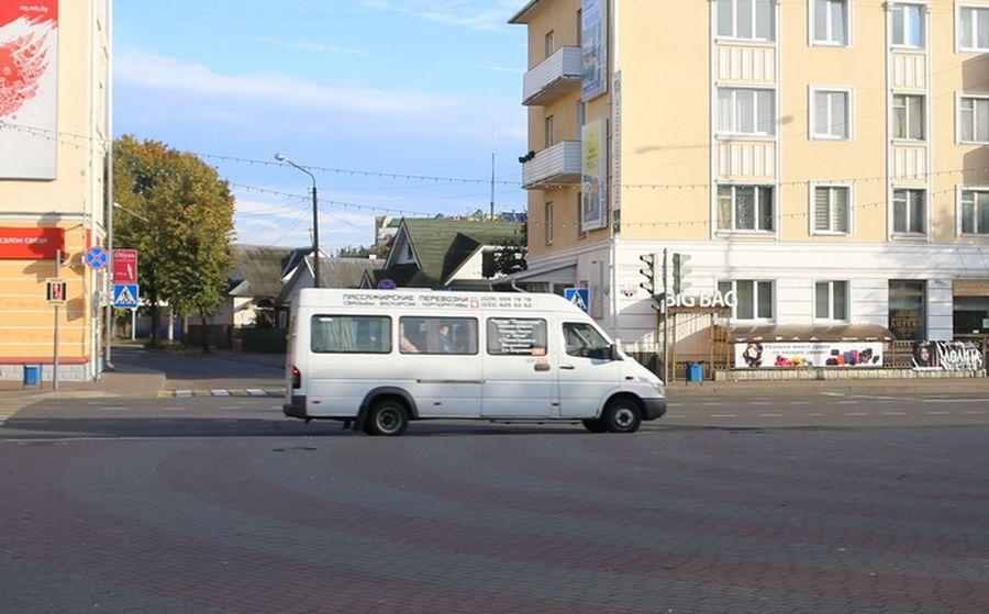 По новому расписанию в декабре и январе будут ходить маршрутки из микрорайона Боровки в Барановичах