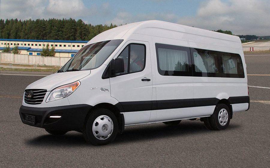 В Бресте МАЗ начнет собирать микроавтобусы и фургоны