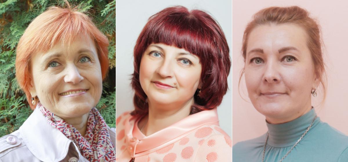 Елена Джурабаева, Ирина Дубейко, Елена Левшевич