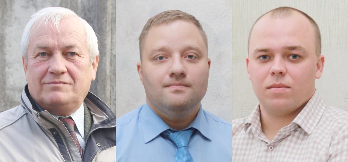 Валентин Карачун, Дмитрий Логиш, Дмитрий Лайша