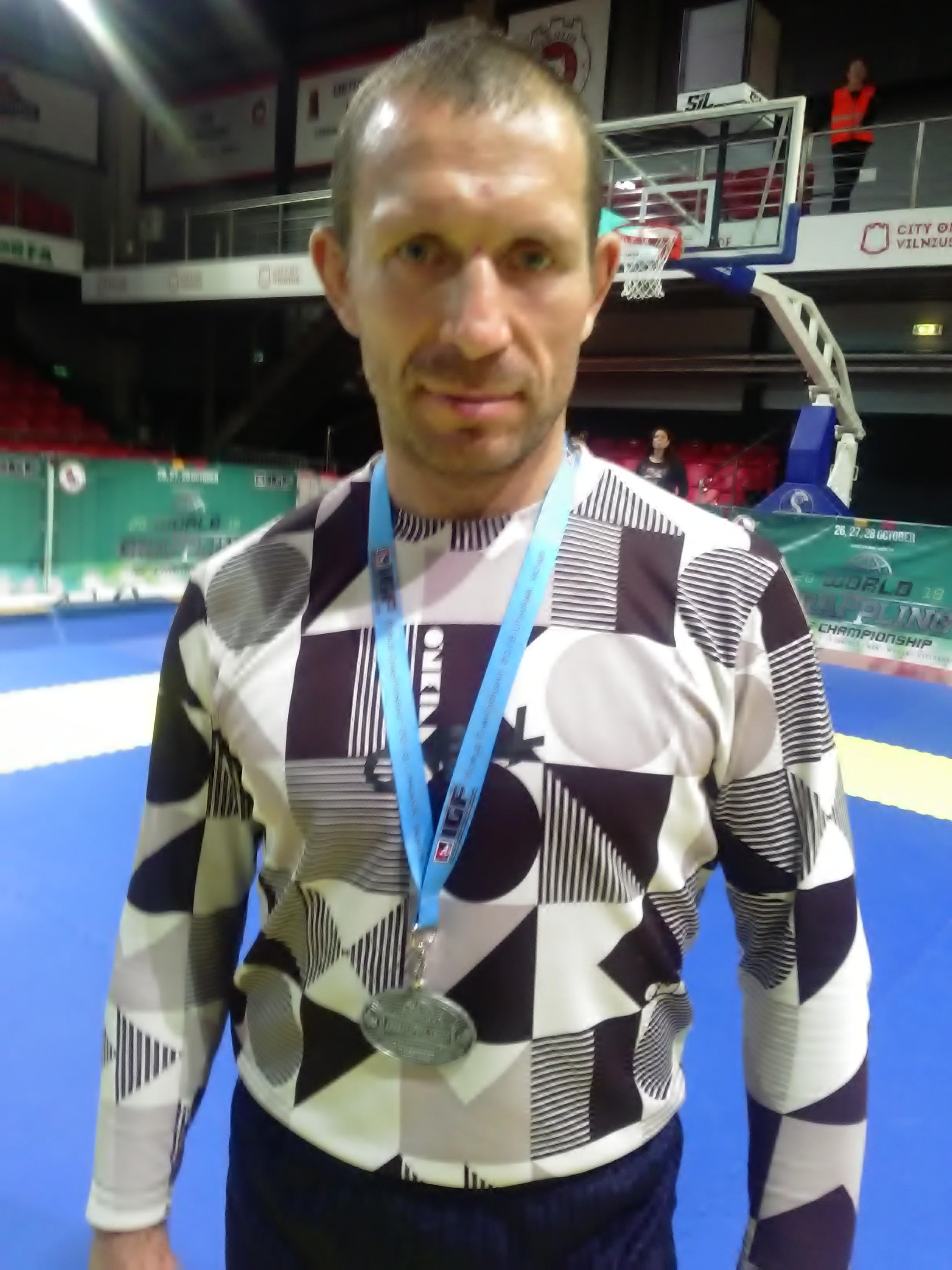 Василий Войтехович с медалью турнира. Фото: личный архив