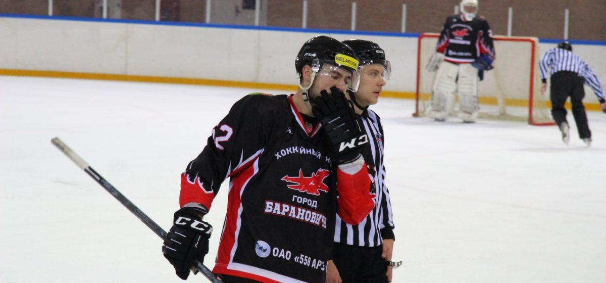 ХК «Барановичи» на своем льду обыграл юниорскую сборную Беларуси (U-18)