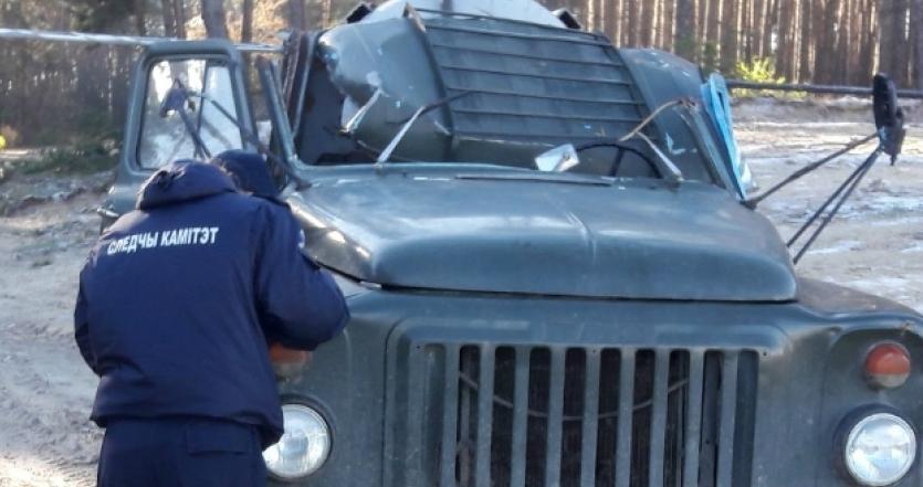 В Ивановском районе «ГАЗ-53» зацепил кабиной провод ЛЭП. Погиб водитель грузовика