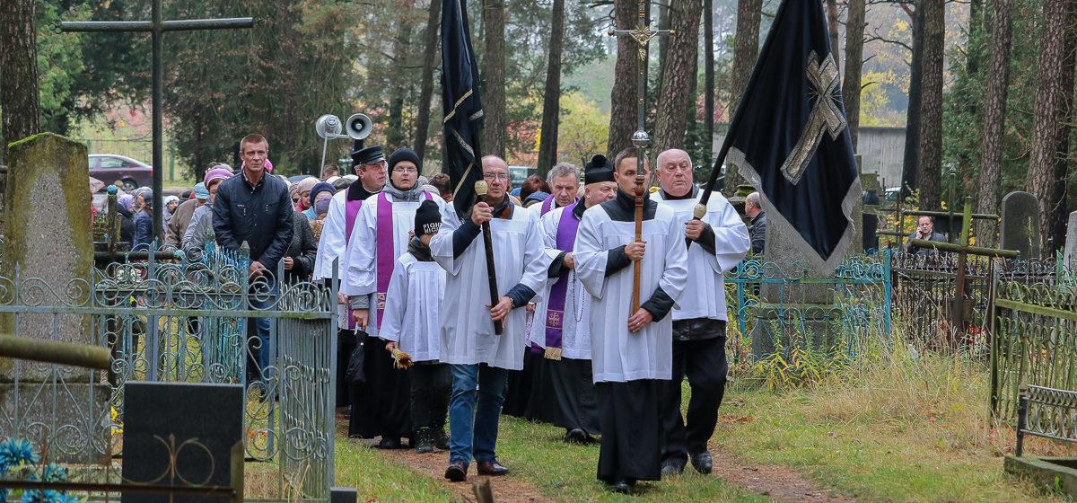 В Барановичах католики отмечают День всех святых