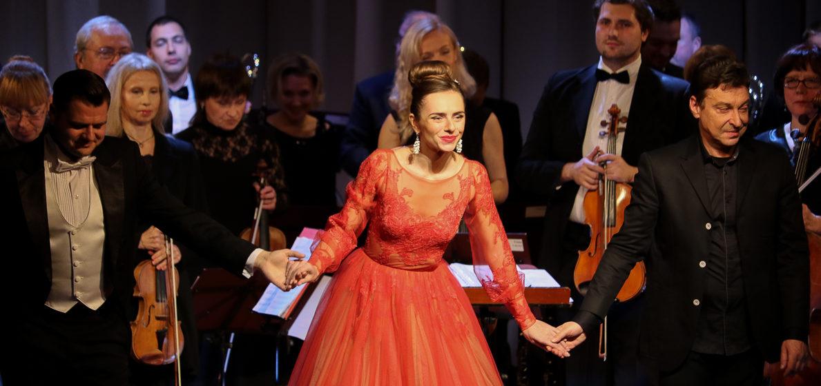 Как в Барановичах выступила оперная певица Маргарита Левчук