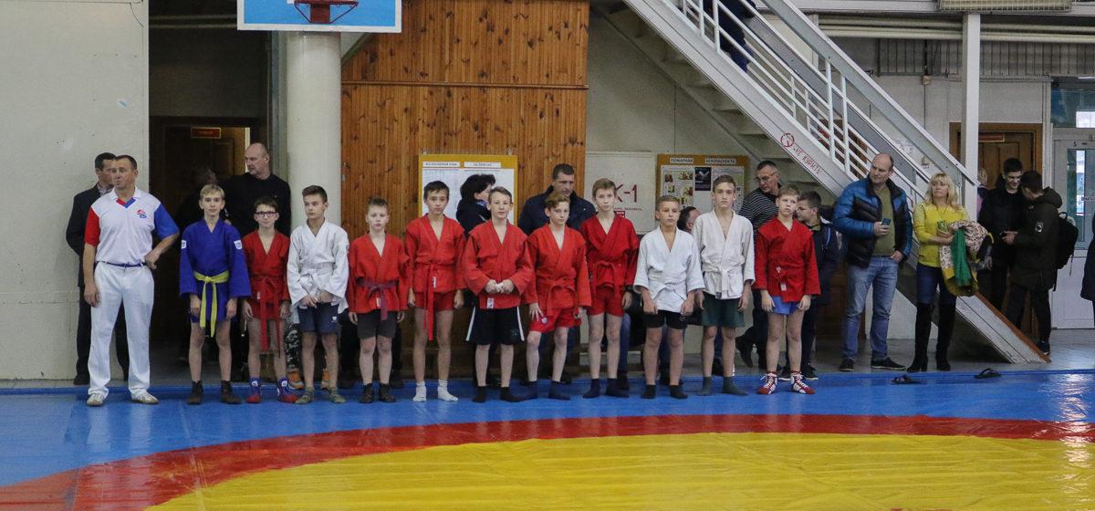 В Барановичах отпраздновали 80-летний юбилей самбо