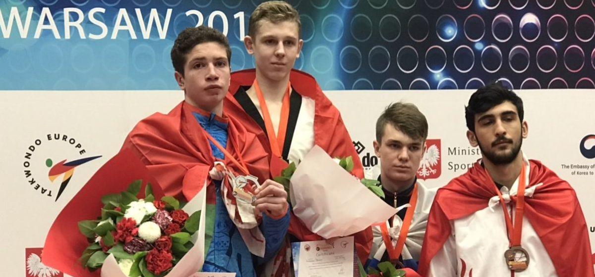 Барановичский таэквондист стал серебряным призером Европы