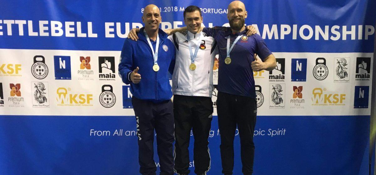 Барановичский силач завоевал бронзовую медаль чемпионата Европы