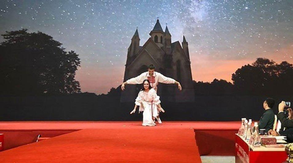 Беларусь заняла первое место на ежегодном конкурсе национальных костюмов в Китае