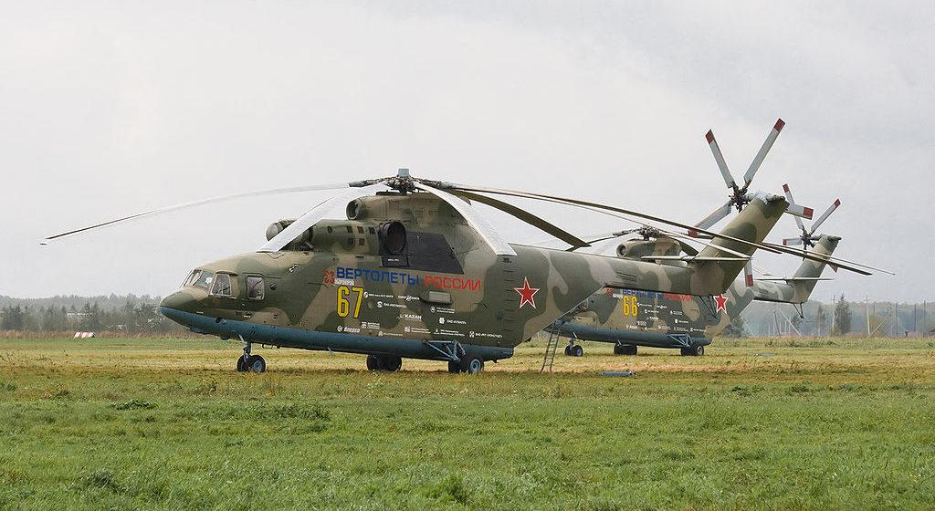 На севере России вертолет Ми-26 совершил жесткую посадку, есть погибшие