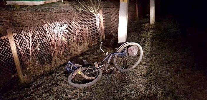 В Ляховичском районе пьяный водитель насмерть сбил велосипедистку и скрылся с места аварии