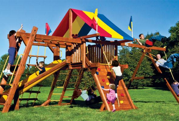 Made in Belarus: безопасные игровые площадки для вашего ребенка