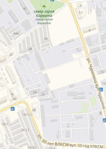 Примерное месторасположение участка под строительство многоэтажек.