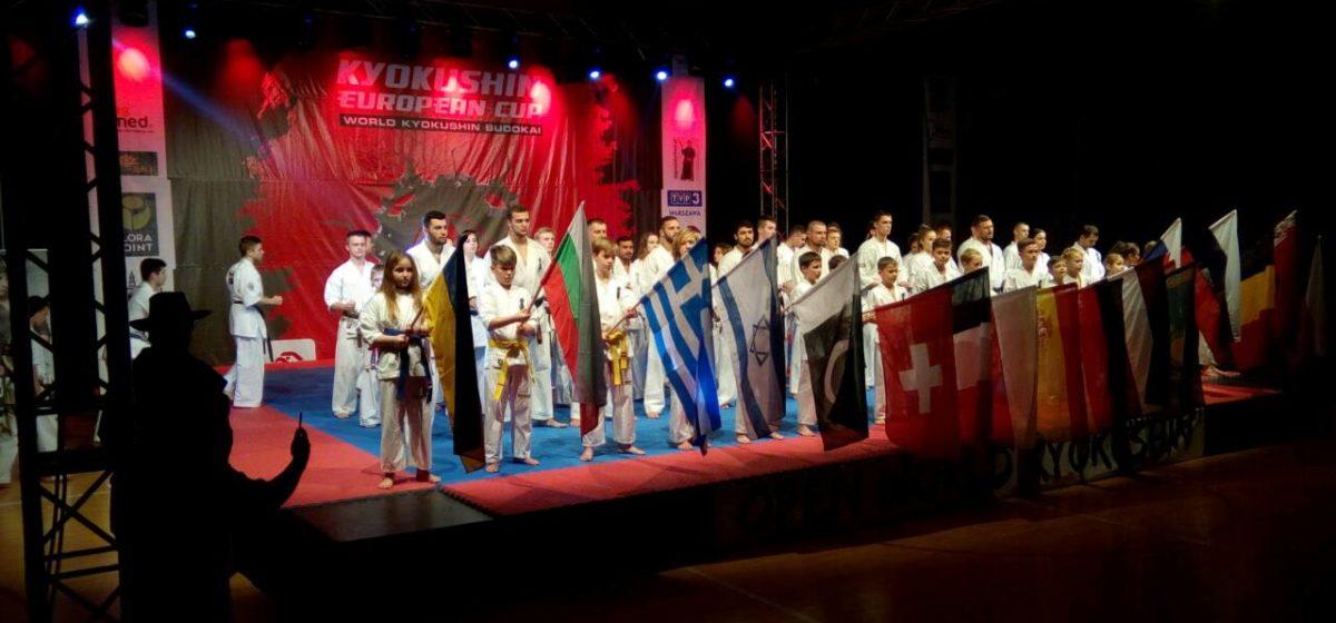 Барановичский школьник завоевал серебряную медаль Кубка Европы по каратэ