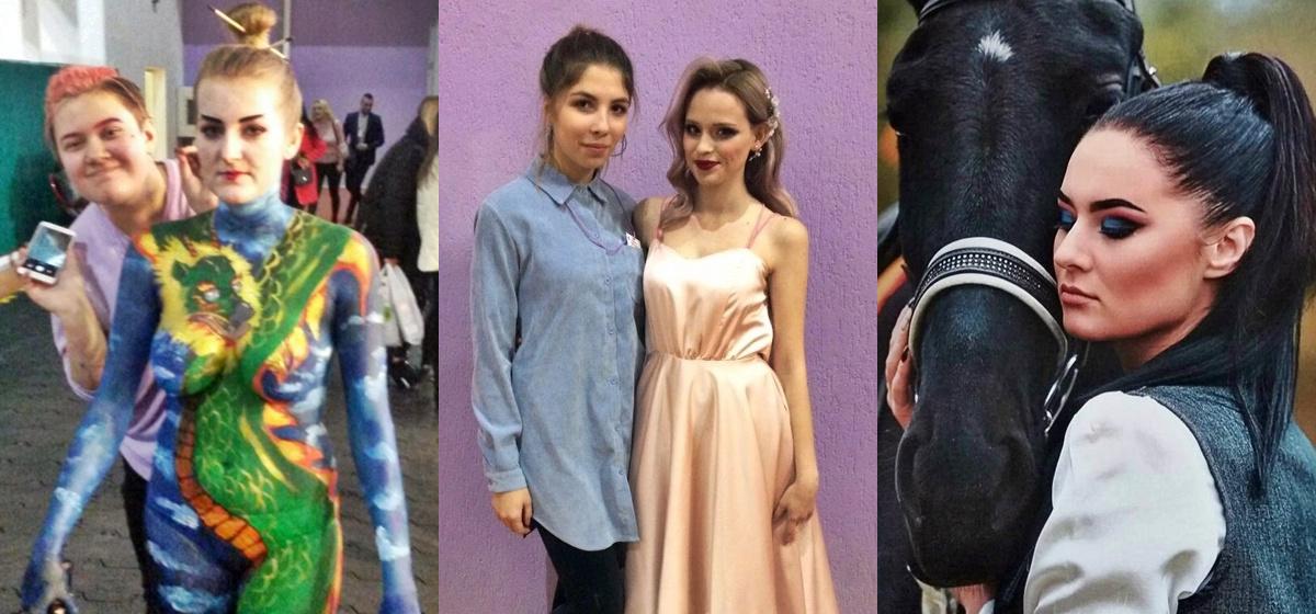 Учащиеся Барановичского колледжа сферы обслуживания вернулись с наградами с Международного фестиваля красоты