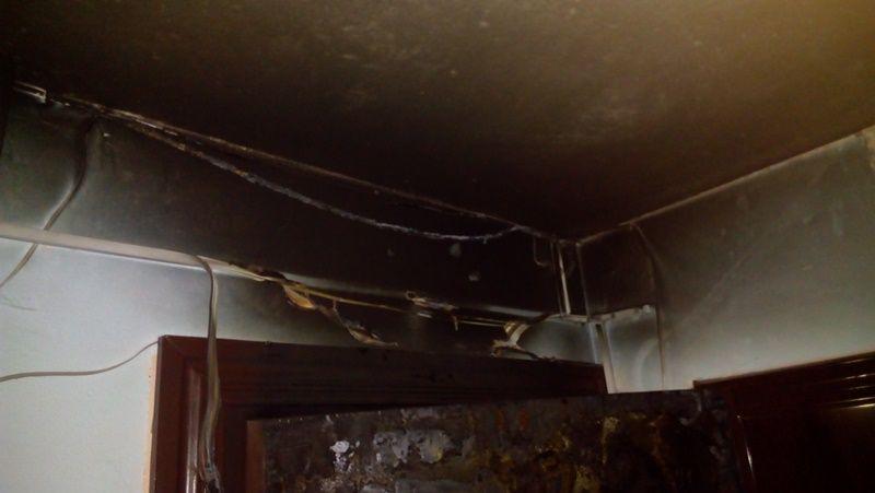 В Барановичах в девятиэтажке произошел пожар