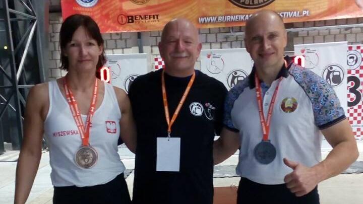 Барановичский спортсмен завоевал серебро Кубка Польши по гиревому спорту