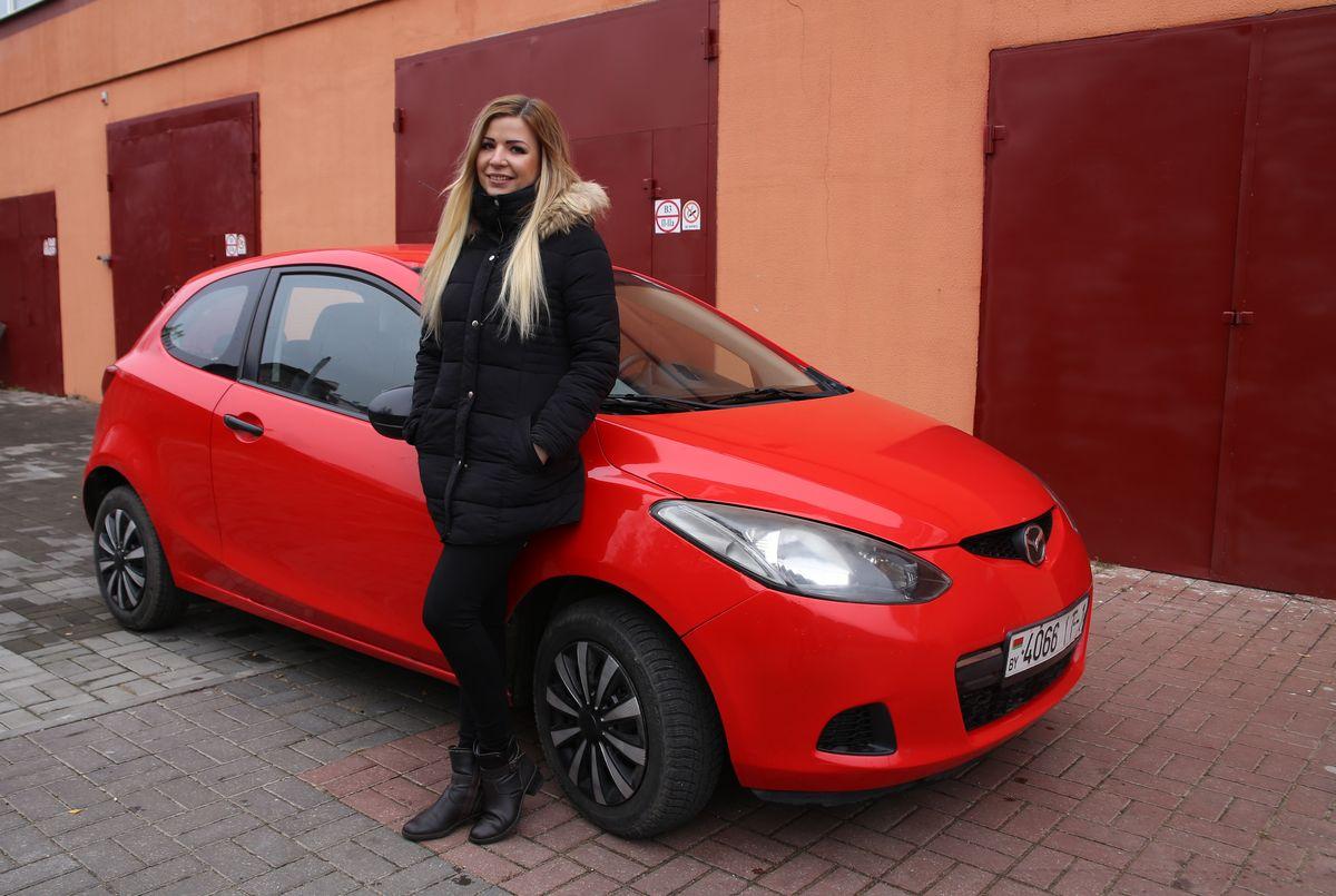 Владельца автомобиля Mazda 2 2009 года выпуска Любовь Яковчик. Фото: Евгений ТИХАНОВИЧ