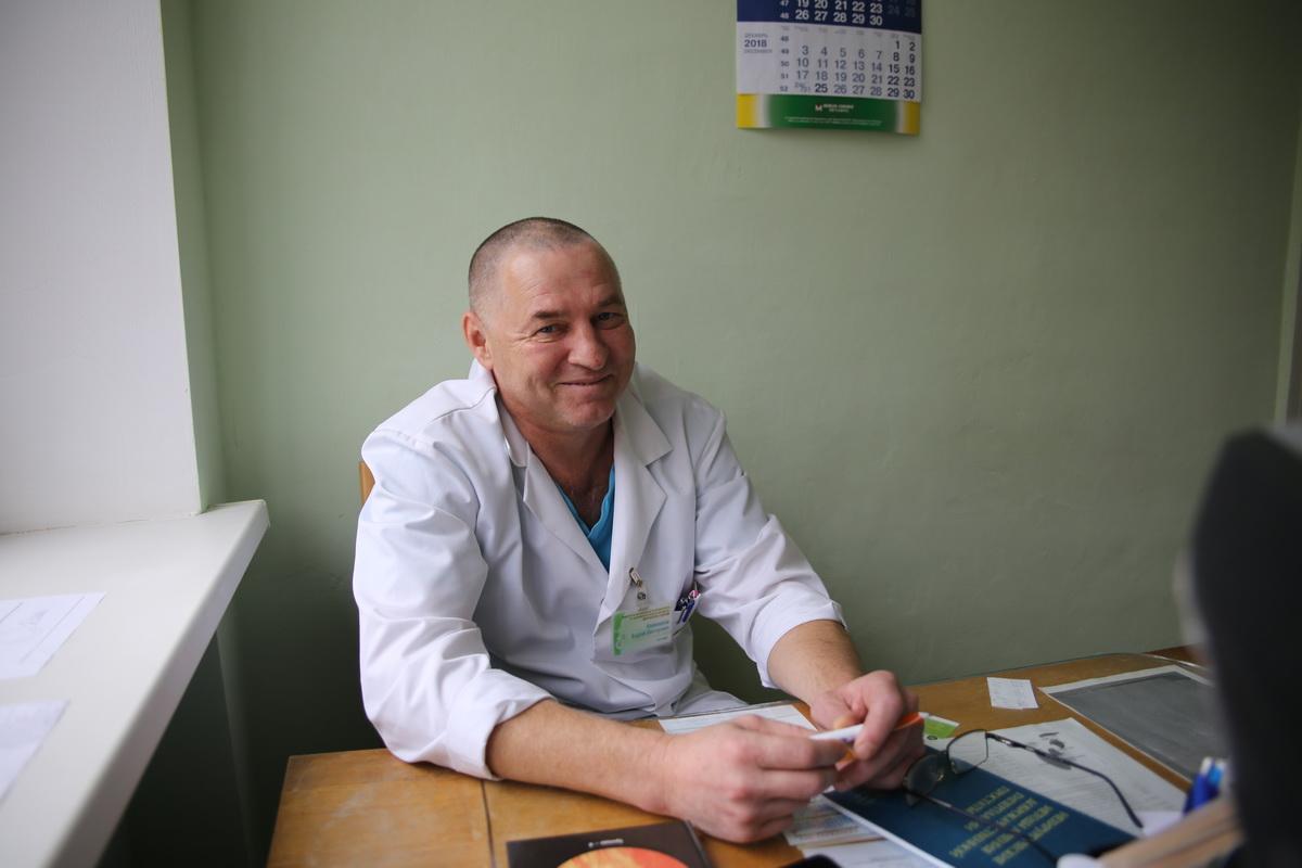 По словам Андрея Кожевникова, на урологическом приеме примерно у 50% пациентов выявляют аденому предстательной железы. Фото: Татьяна МАЛЕЖ