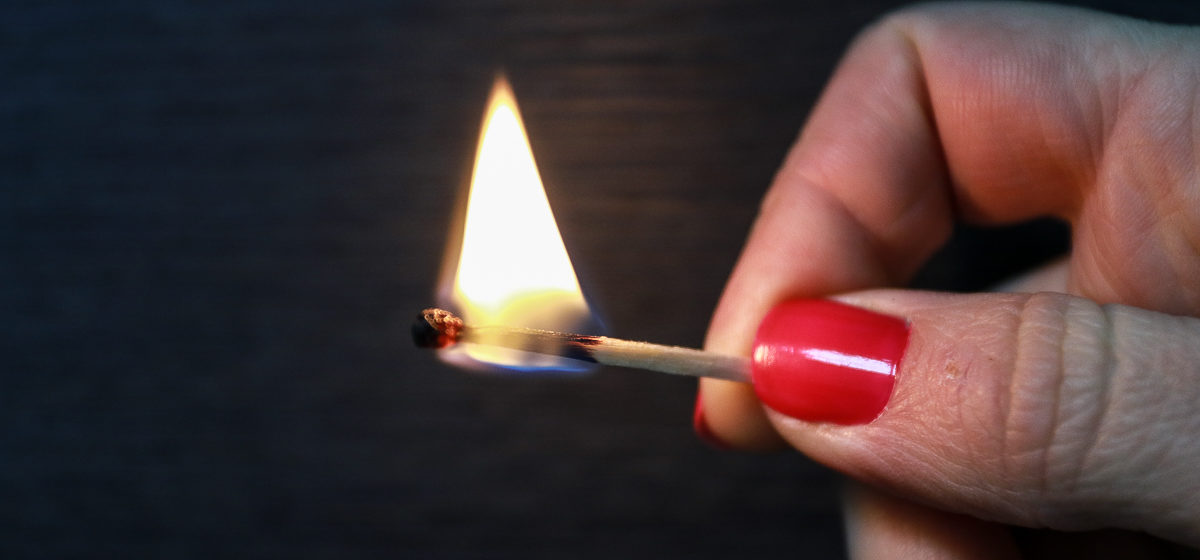 В Ляховичском районе в огне погиб мужчина