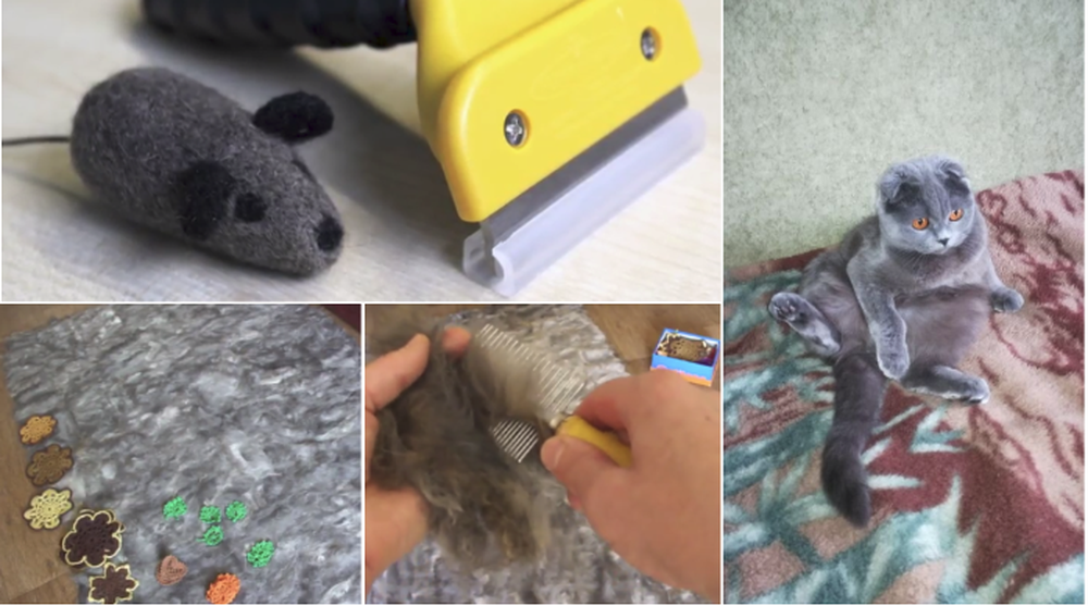 Владельцам котиков. Четыре совета, как можно использовать кошачью шерсть