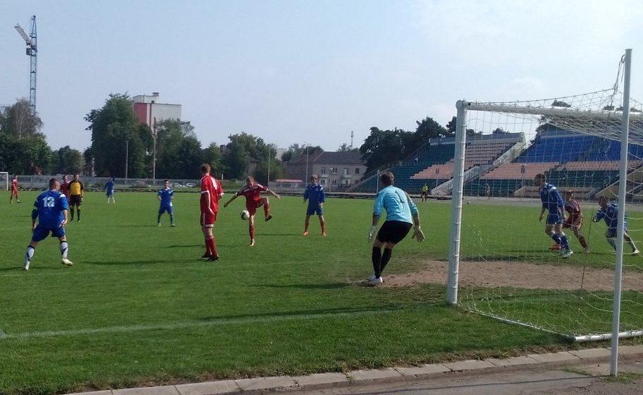В Барановичах появится футбольное поле с искусственным покрытием