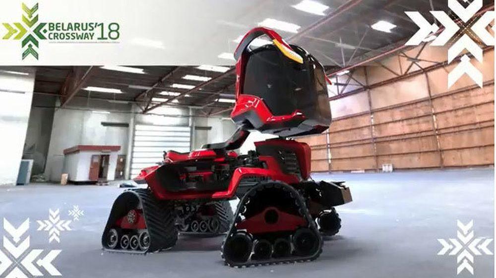МТЗ представил концепт трактора, который похож на технику из фантастических фильмов