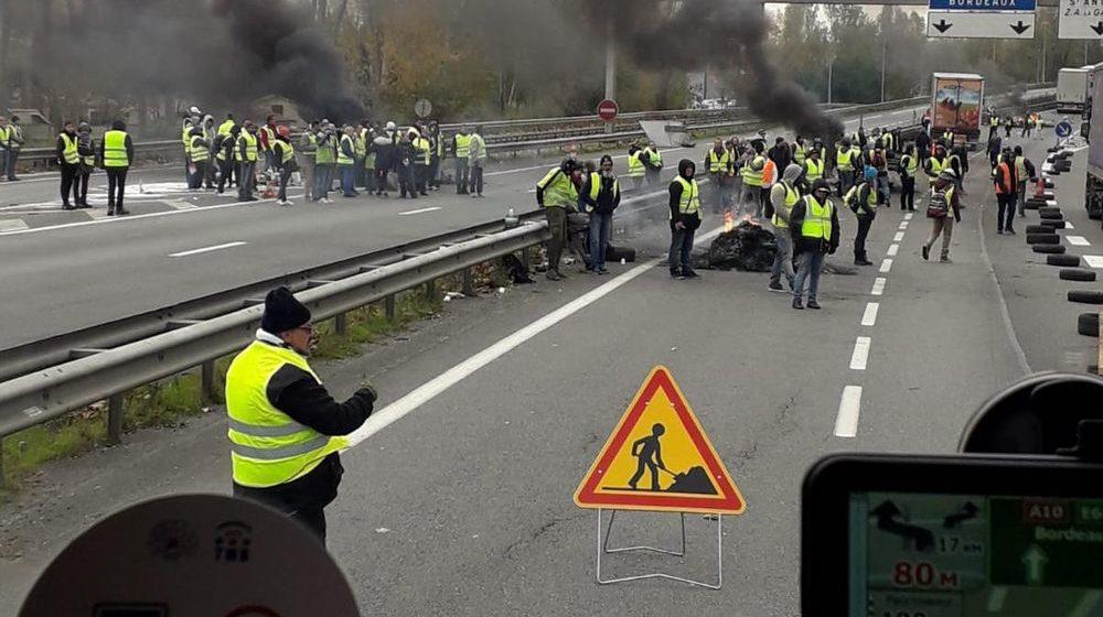 Во Франции во время протестов погибли два человека