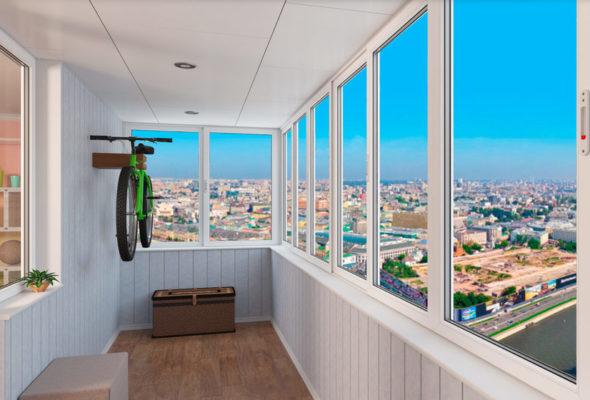 Балкон станет отдельной комнатой
