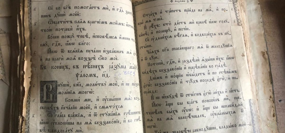 Белорус пытался вывезти из Украины старинные книги