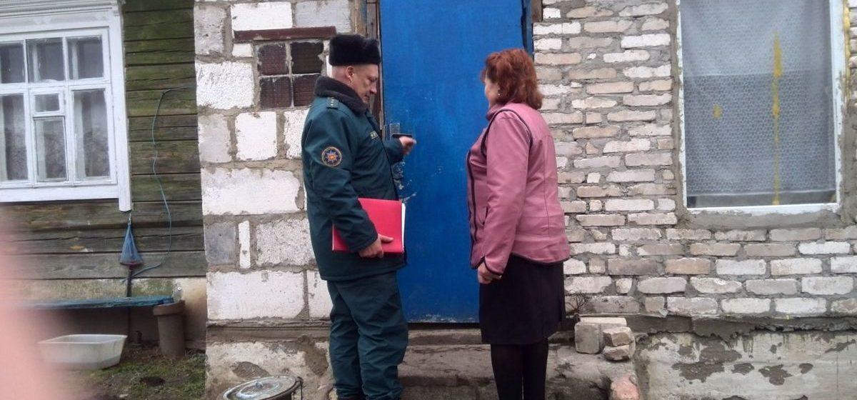 В Барановичах сотрудники МЧС проверили пожарную безопасность более 4000 домов и квартир