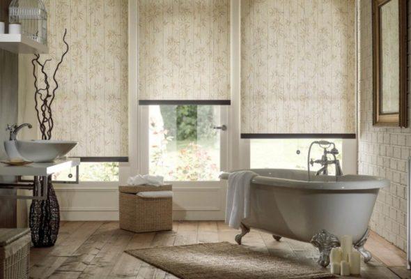 Рулонные шторы — какие они бывают?