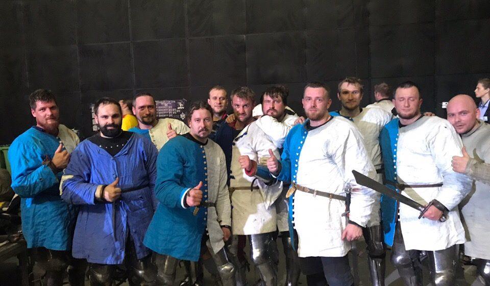 Барановичские рыцари завоевали бронзу на международном фестивале в Москве