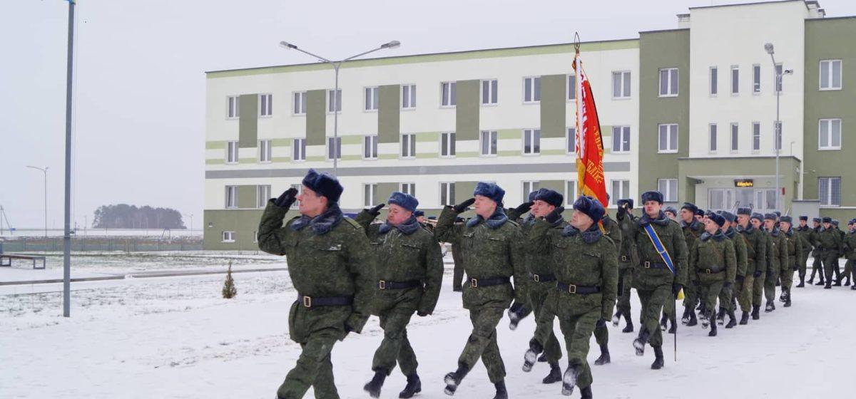 Барановичские военные будут защищать воздушное пространство над БелАЭС