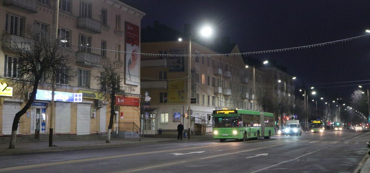 В Барановичах модернизируют уличное освещение: где и зачем?