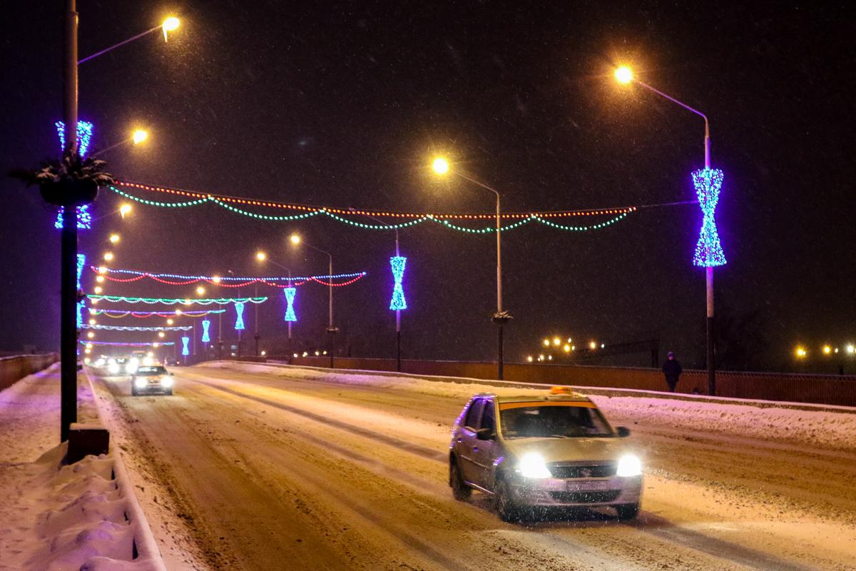 Проспект Советский (мост на Северном)