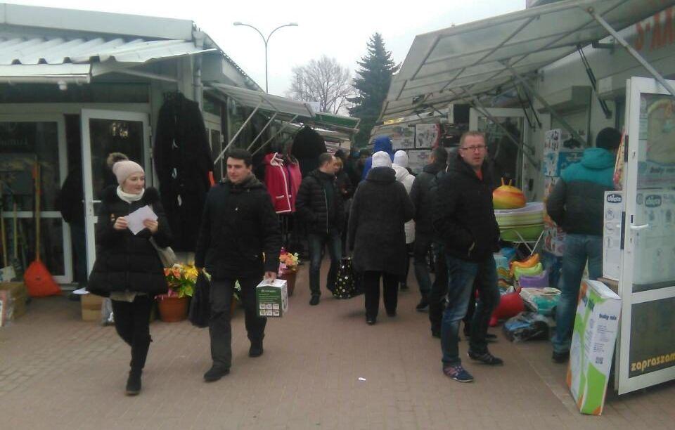 2017 год. Кавалерийский рынок в Белостоке. Фото: Intex-press